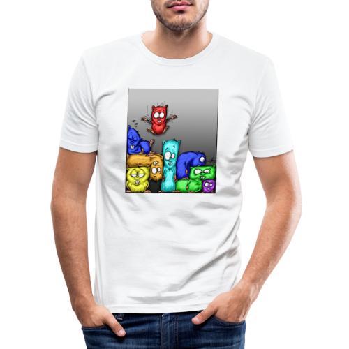 hamstris_farbe - Männer Slim Fit T-Shirt