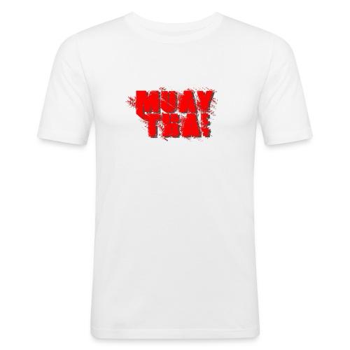 Muay Thai - Men's Slim Fit T-Shirt