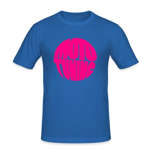 MotoTuning Pink - Men's Slim Fit T-Shirt