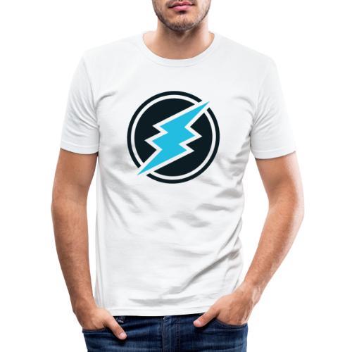 ETN logo - Men's Slim Fit T-Shirt