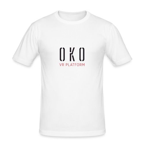 OKO VR PLATFORM - Men's Slim Fit T-Shirt