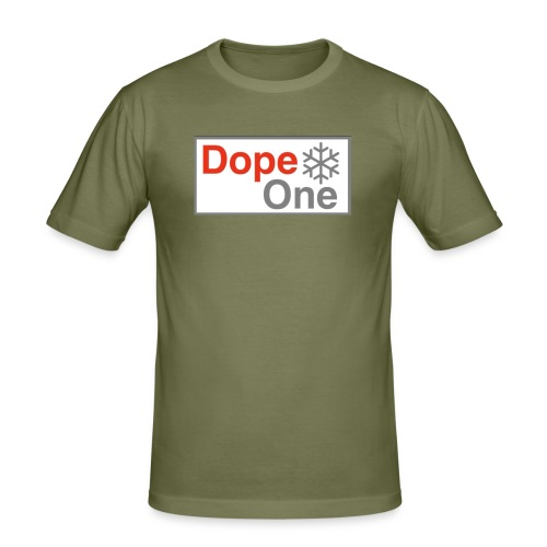 Dope One - Männer Slim Fit T-Shirt