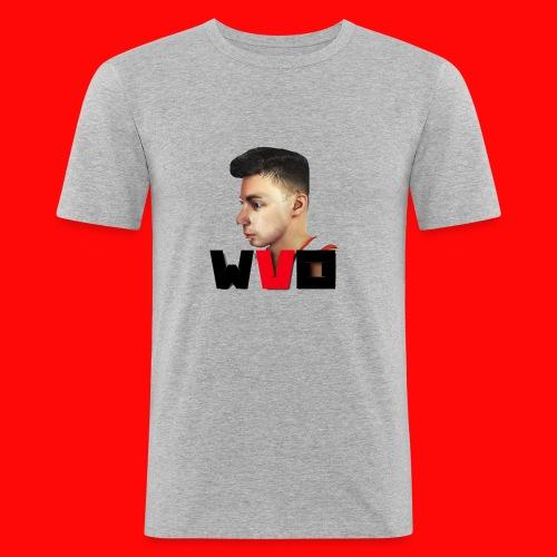 WVO OFFICIAL - Men's Slim Fit T-Shirt