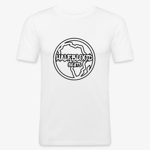 halfbloodAfrica - Mannen slim fit T-shirt