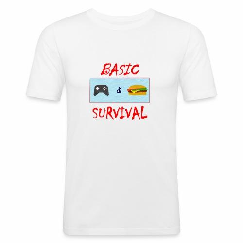 Basic Survival - Men's Slim Fit T-Shirt