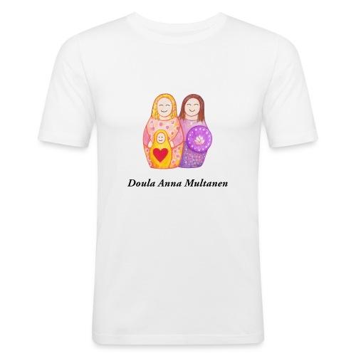 Doula Anna - Miesten tyköistuva t-paita