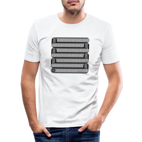 Wavesnake - Mannen slim fit T-shirt