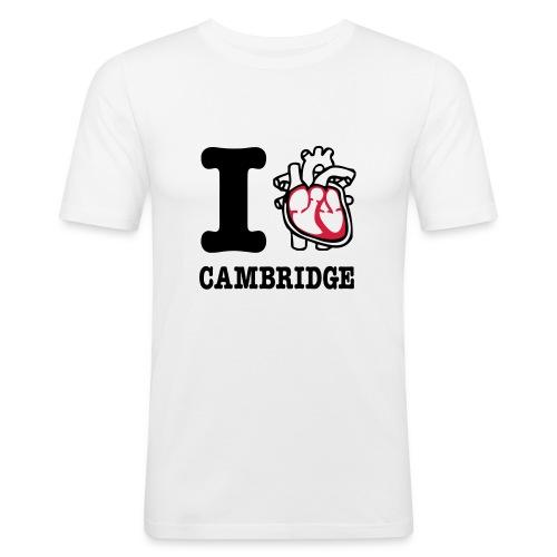 I Heart Cambridge - Men's Slim Fit T-Shirt