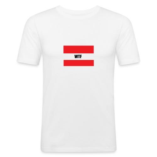 WTF - Männer Slim Fit T-Shirt