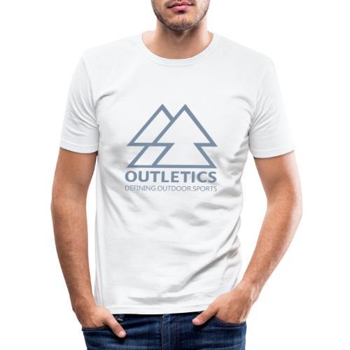 outletics denim - Männer Slim Fit T-Shirt
