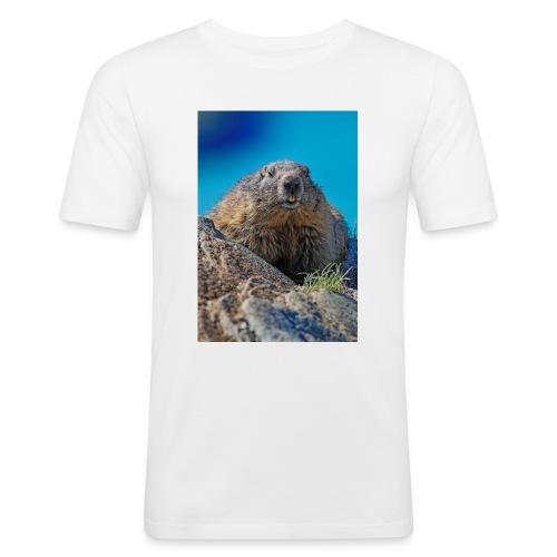 Das Murmeltier - Männer Slim Fit T-Shirt