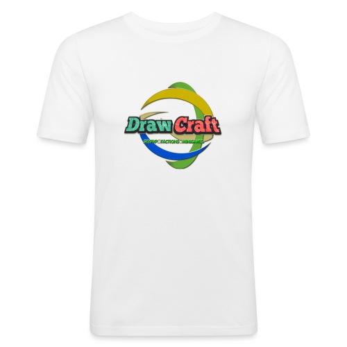 T-Shirt DrawCraft - Maglietta aderente da uomo