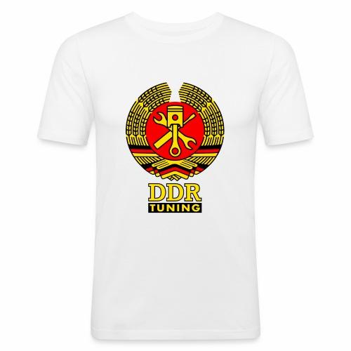 DDR Tuning Coat of Arms 3c - Men's Slim Fit T-Shirt