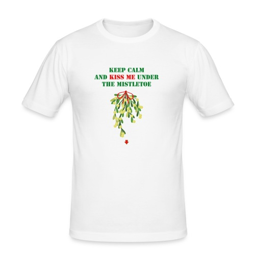 Under the mistletoe - Männer Slim Fit T-Shirt