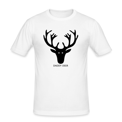 DADDY DEER - Men's Slim Fit T-Shirt