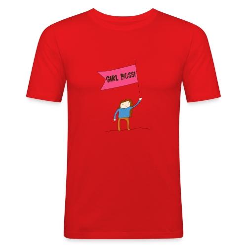 Gurl boss - Camiseta ajustada hombre