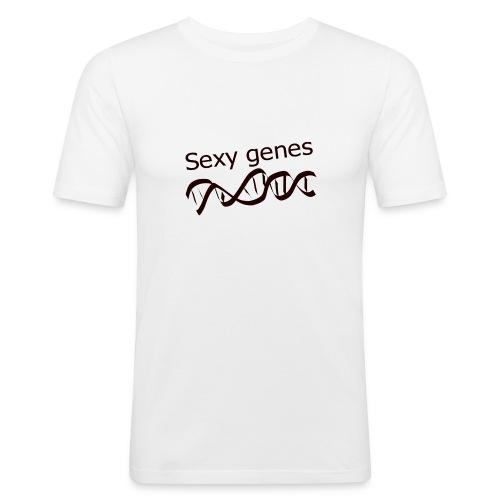 Sexy genes - Genetics - Men's Slim Fit T-Shirt