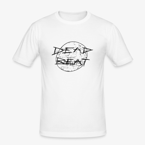 DeadBeat logo - Men's Slim Fit T-Shirt
