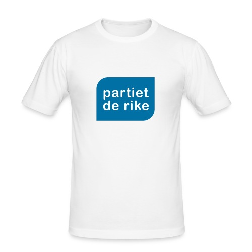 Partiet de Rike - Slim Fit T-skjorte for menn
