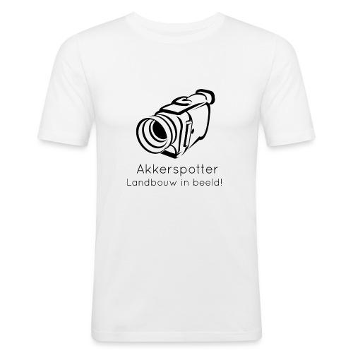 Logo akkerspotter - slim fit T-shirt