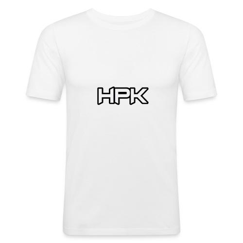 Het play kanaal logo - Mannen slim fit T-shirt
