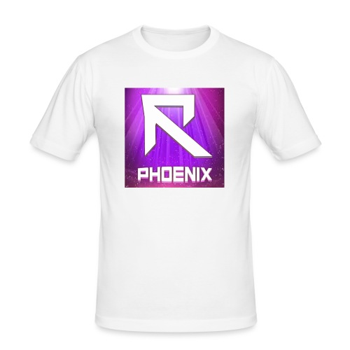 RTrixx Phoenix Logo - Men's Slim Fit T-Shirt