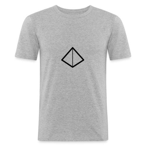 Naamloos-1-png - Mannen slim fit T-shirt