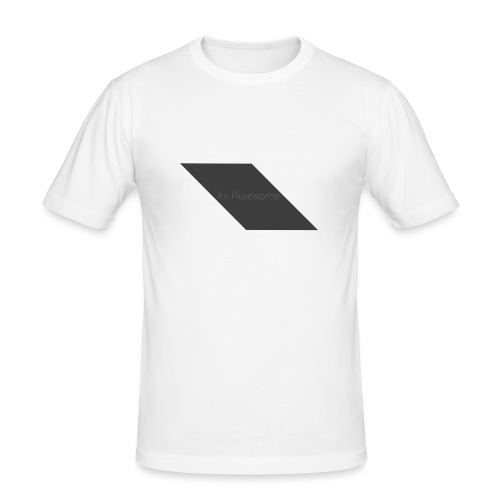 T-shirt Its Awesome - Mannen slim fit T-shirt