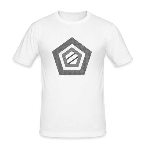 Naamloos-2-1-png - Mannen slim fit T-shirt