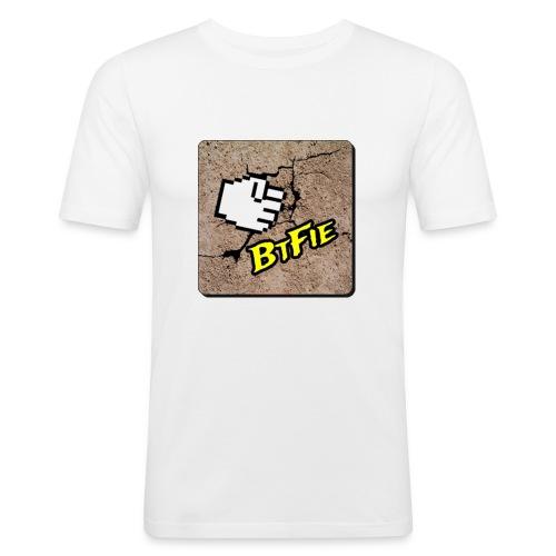 BrutalFissure Tee - Herre Slim Fit T-Shirt