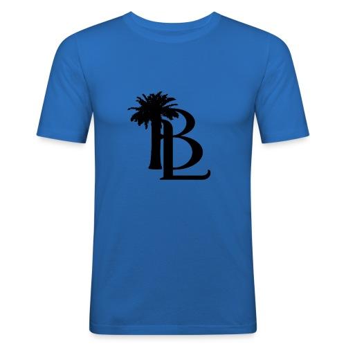bllogo-png - Herre Slim Fit T-Shirt