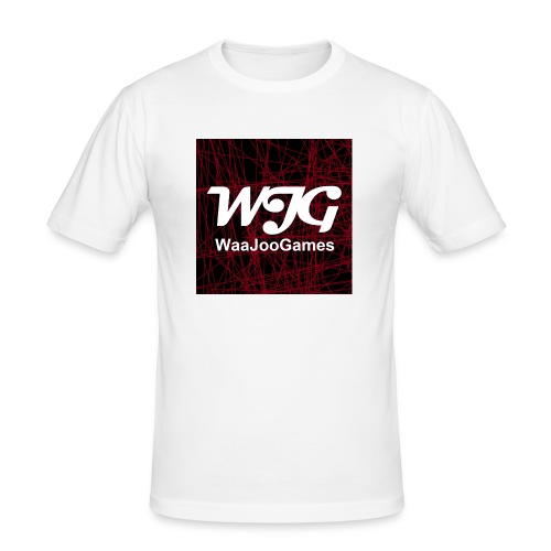 T-shirt WJG logo - Mannen slim fit T-shirt