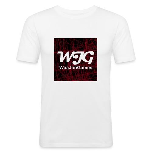 T-shirt WJG logo - Mannen slim fit T-shirt