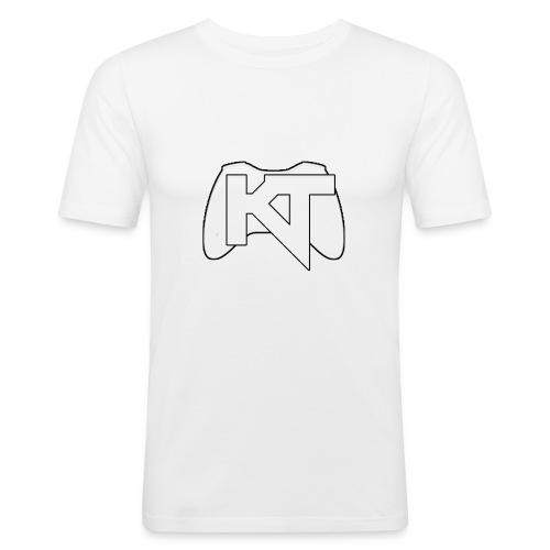 Kwalitijd iphone4/4s Hoesje - Mannen slim fit T-shirt
