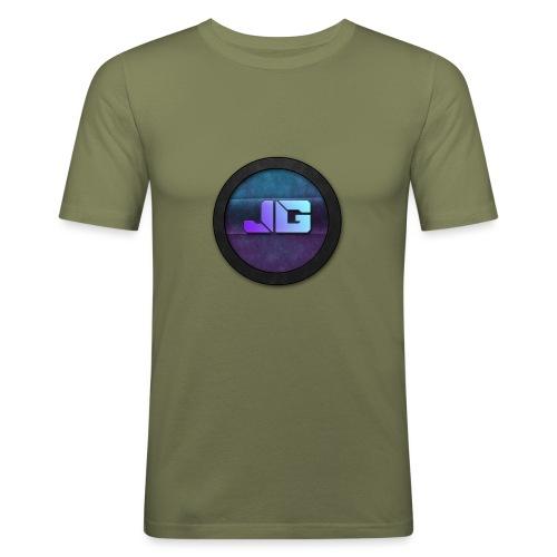 Pet met Logo - slim fit T-shirt