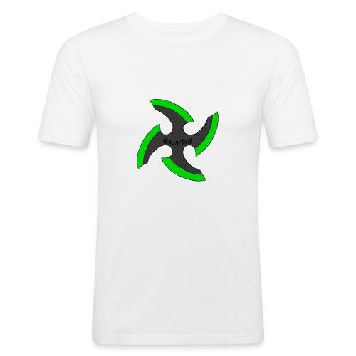black-ronin-throwing-star-jpg_1 - Men's Slim Fit T-Shirt