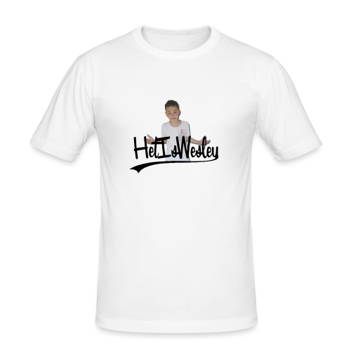 HetIsWesley T-Shirt - Mannen slim fit T-shirt