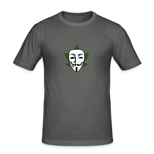 Anonymous - Mannen slim fit T-shirt