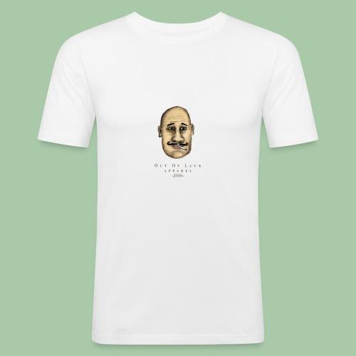 Unlucky Hoodie - Miesten tyköistuva t-paita