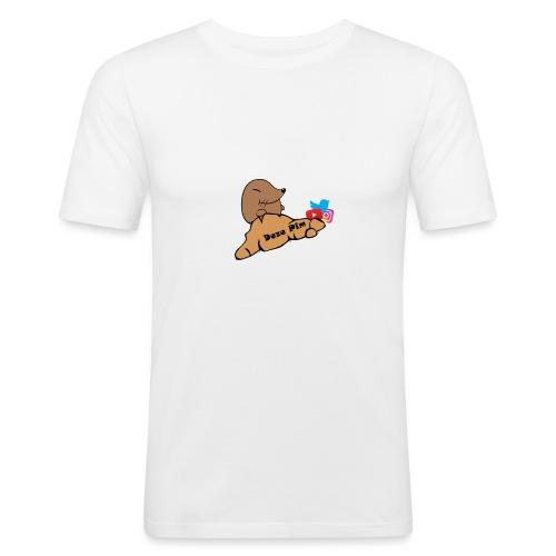 Deze Pim Kleding - Mannen slim fit T-shirt