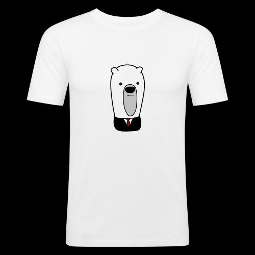 officel_polarbear_shop_logo - Herre Slim Fit T-Shirt