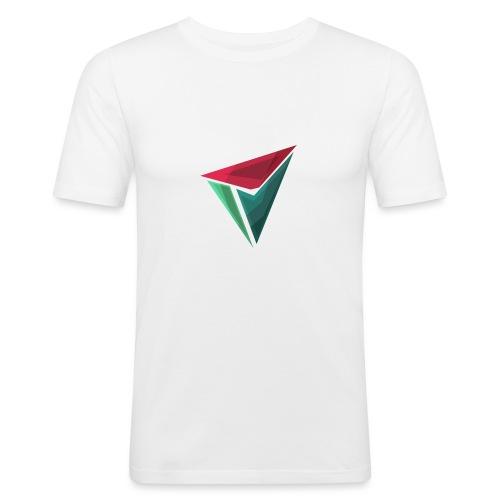 90gQopen T-Shirt   Logga Färg - Slim Fit T-shirt herr