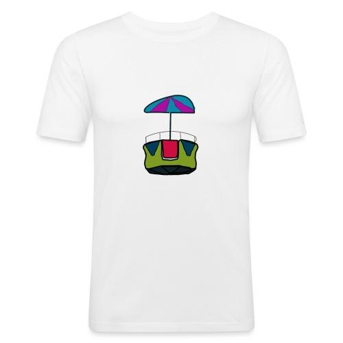 reuzenrad - Mannen slim fit T-shirt