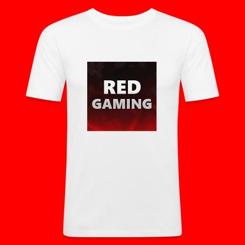 RED DESIGN - Men's Slim Fit T-Shirt