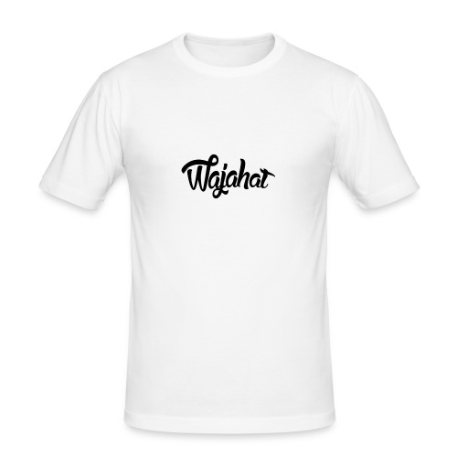 Wajahat Design - Men's Slim Fit T-Shirt