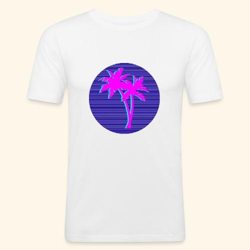 Florida palmtree - T-shirt près du corps Homme