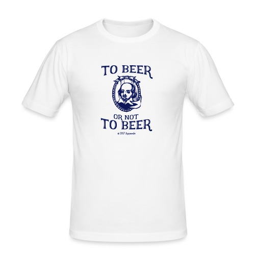Shakesbeer T-Shirt - Men's Slim Fit T-Shirt