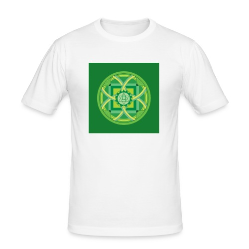 Anahata - Heart Chakra - Miesten tyköistuva t-paita