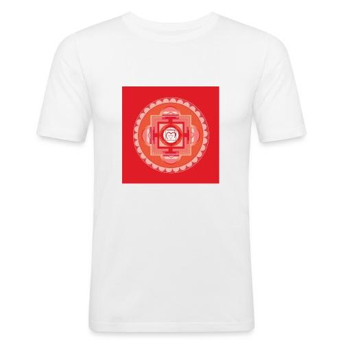 Muladhara - Root Chakra - Miesten tyköistuva t-paita