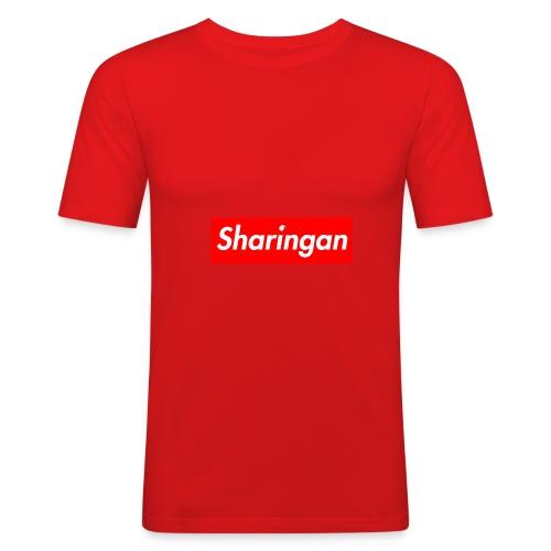 Sharingan tomoe - T-shirt près du corps Homme